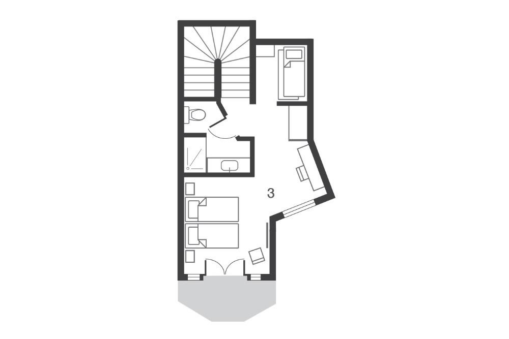 Chalet Ossetra Avoriaz Floor Plan 3