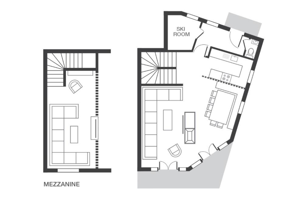 Chalet Kakisa Avoriaz Floor Plan 1
