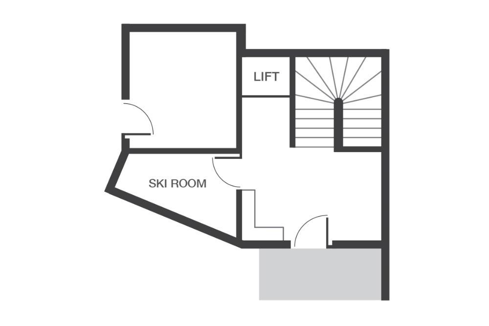 Chalet Beluga Avoriaz Floor Plan 2