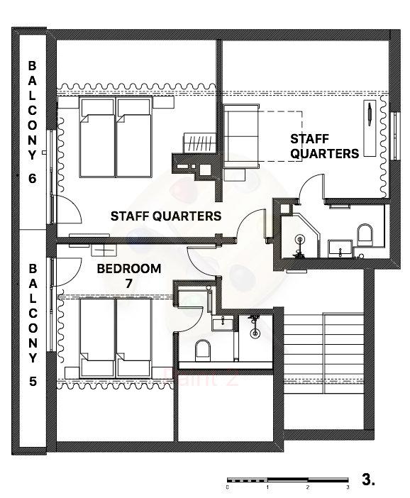 Snowflake Chalet Bansko Floor Plan 2
