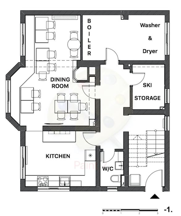 Snowflake Chalet Bansko Floor Plan 3
