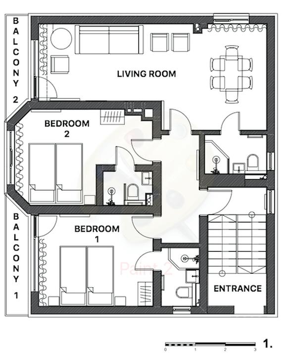 Snowflake Chalet Bansko Floor Plan 4