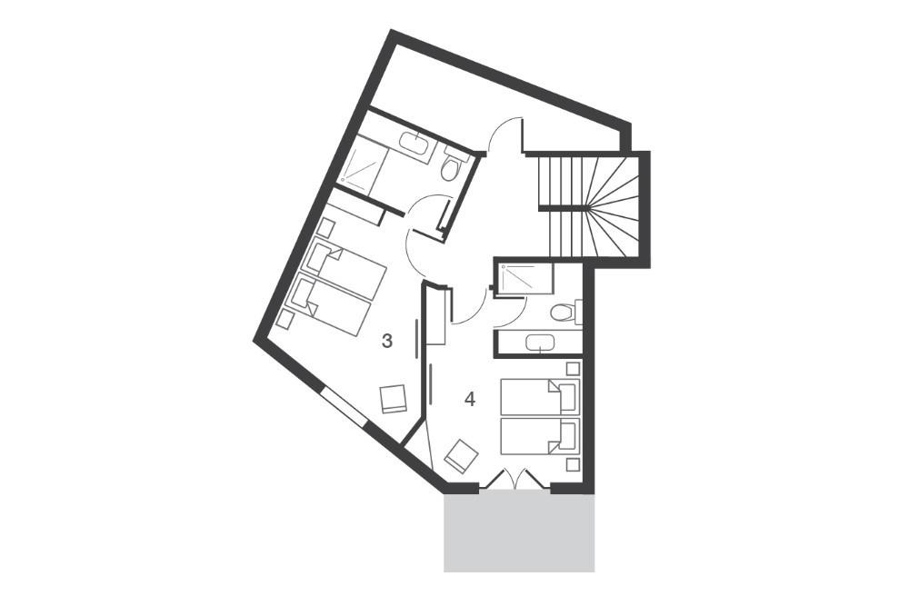 Chalet Kobuk Avoriaz Floor Plan 3