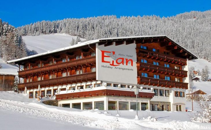 Aktiv Hotel Elan, Oberau, External