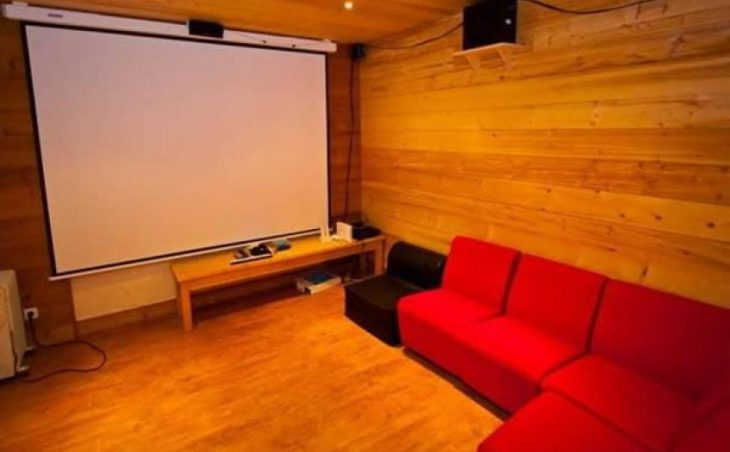 Chalet Roxy, Morzine, Movie Room