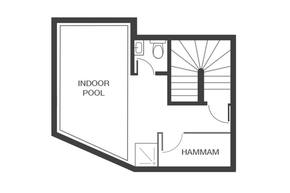 Chalet Beluga Avoriaz Floor Plan 1