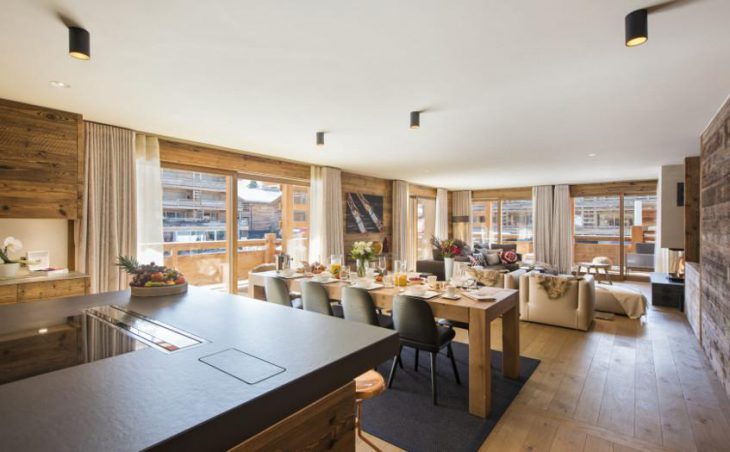 Chalet Agate, Verbier, Lounge