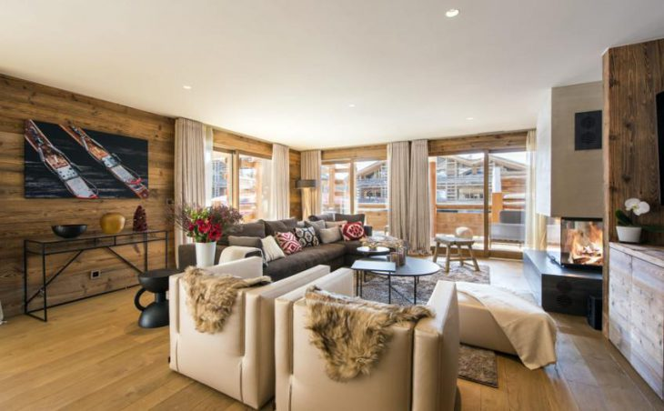 Chalet Agate, Verbier, Lounge 2