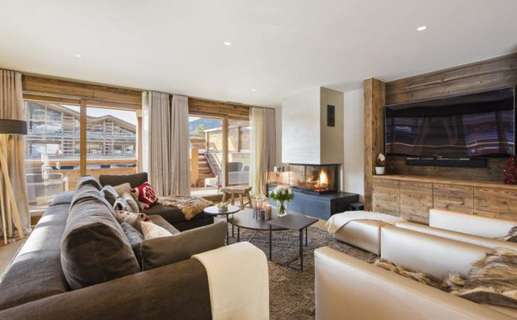 Chalet Agate, Verbier, Lounge 3