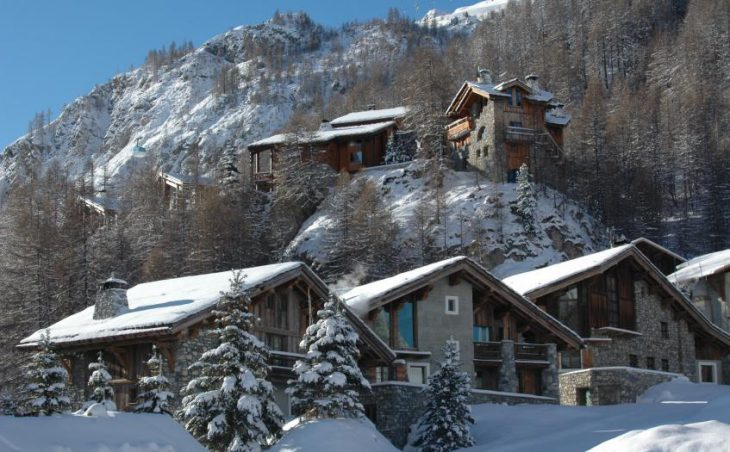 Chalet Alice, Val dIsere, External