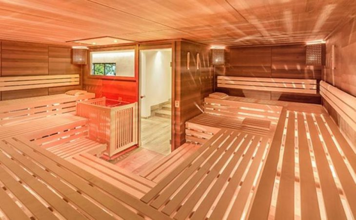 Hotel Alpenland, Obergurgl, Sauna