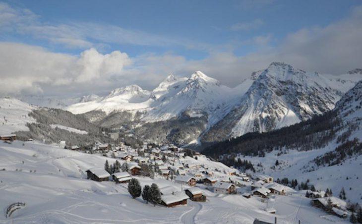 Ski Resort in Arosa, Switzerland