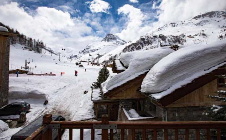 Chalet Arsellaz, Val D'Isere, Balcony View