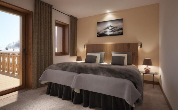 No.5 Aspen House, Val d'Isere, Twin Room