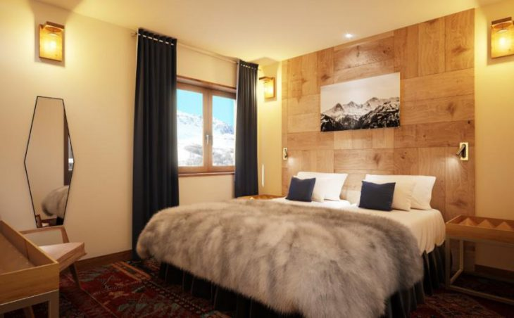 No.5 Aspen House, Val d'Isere, Bedroom