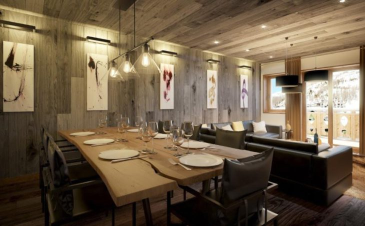 No.5 Aspen House, Val d'Isere, Dining Room