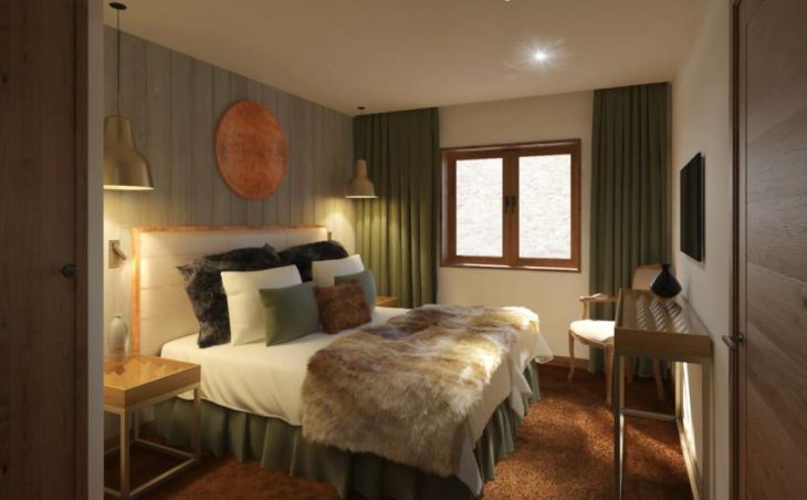 No.5 Aspen House, Val d'Isere, Bed