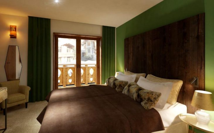 Aspen House Loft 1, Val d'Isere, Bedroom