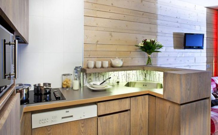 Atria-Crozats, Avoriaz, Kitchen