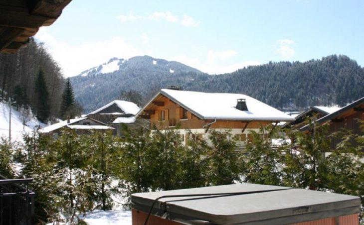 Brown Bear Lodge, Morzine, Hot Tub