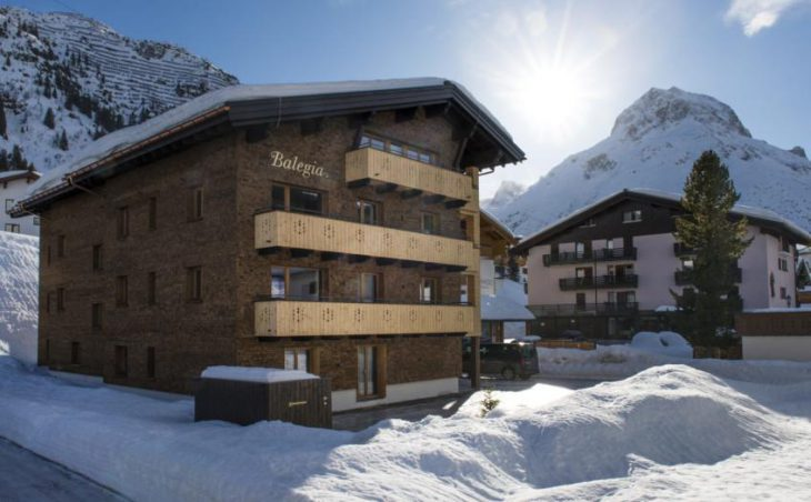 Balegia Apartment 1, Lech, External