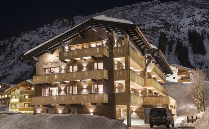 Balegia Apartment 1, Lech, External Night