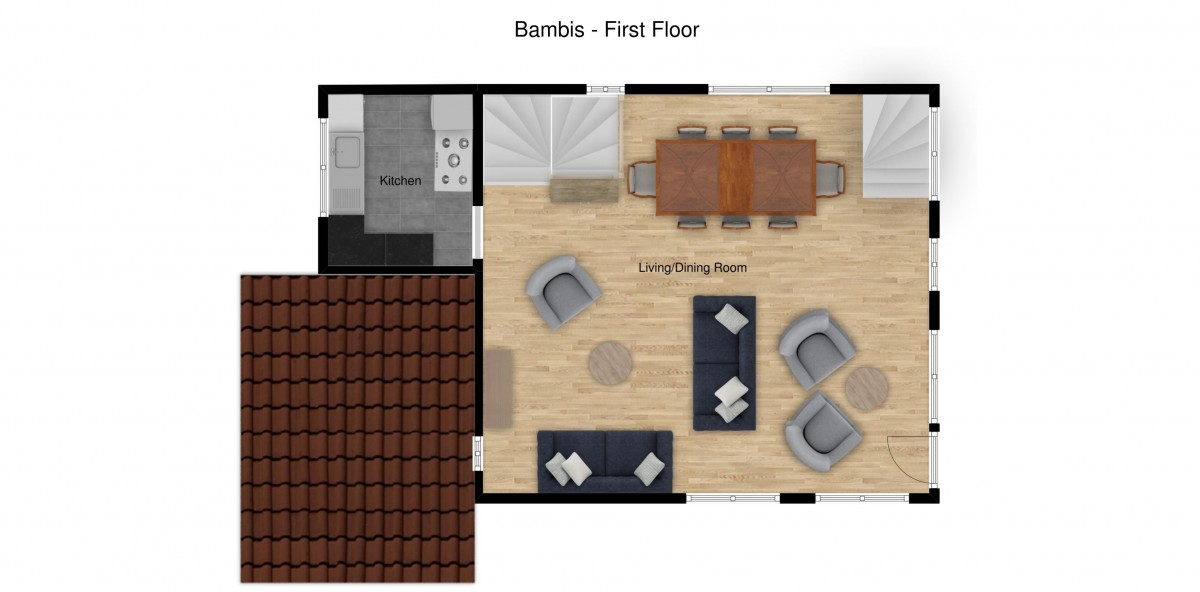 Chalet Bambis Meribel Floor Plan 3