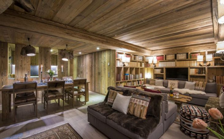 Chalet Barmettes, Val d'Isere, Living Area