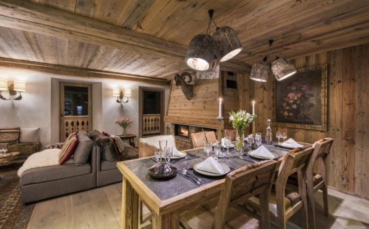Chalet Barmettes, Val d'Isere, Dining