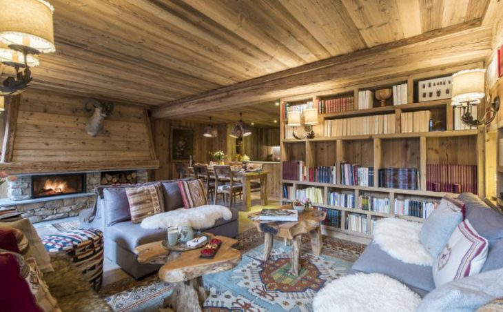 Chalet Barmettes, Val d'Isere, Lounge