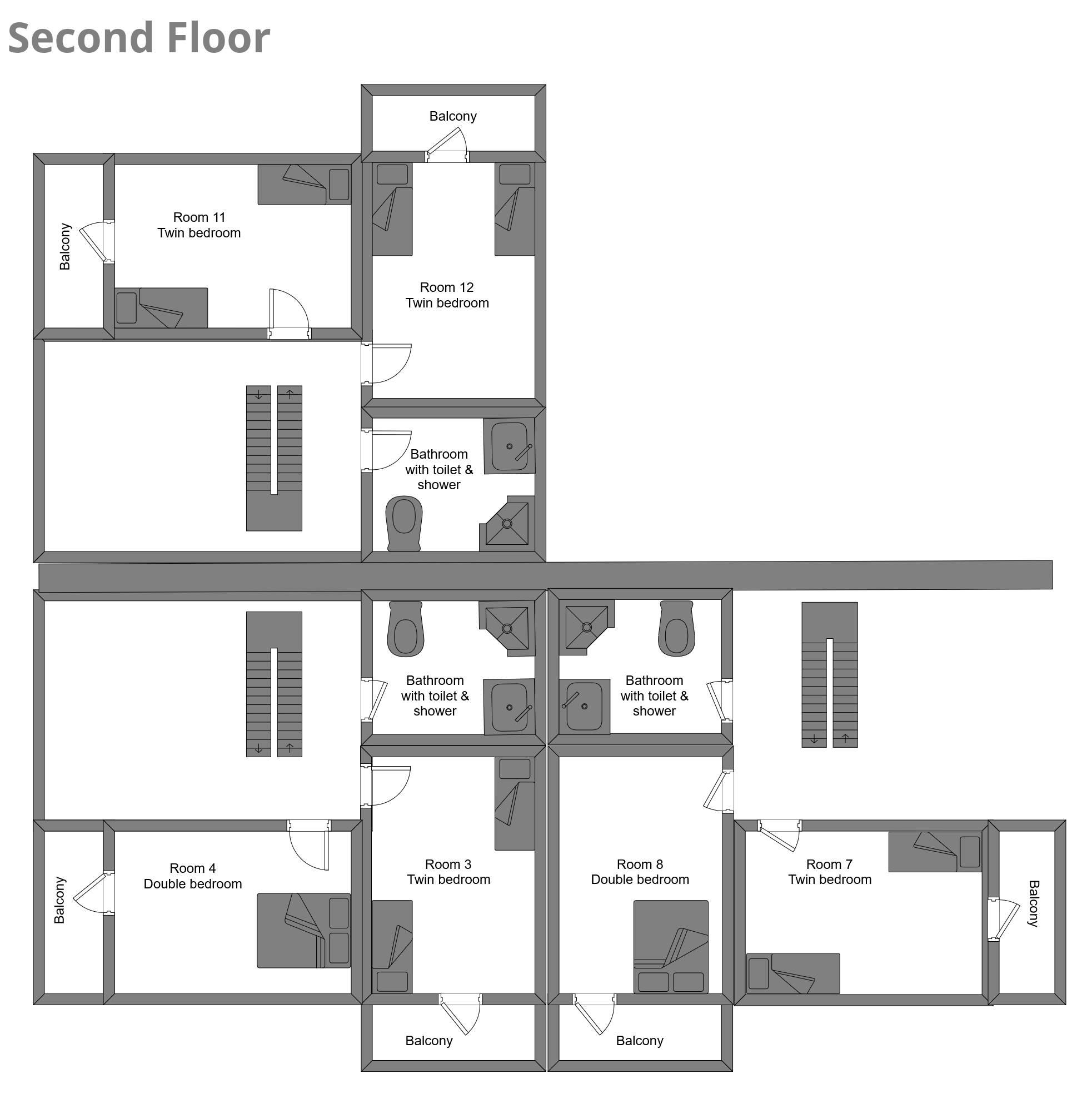 Chalet Campanules La Plagne Floor Plan 3