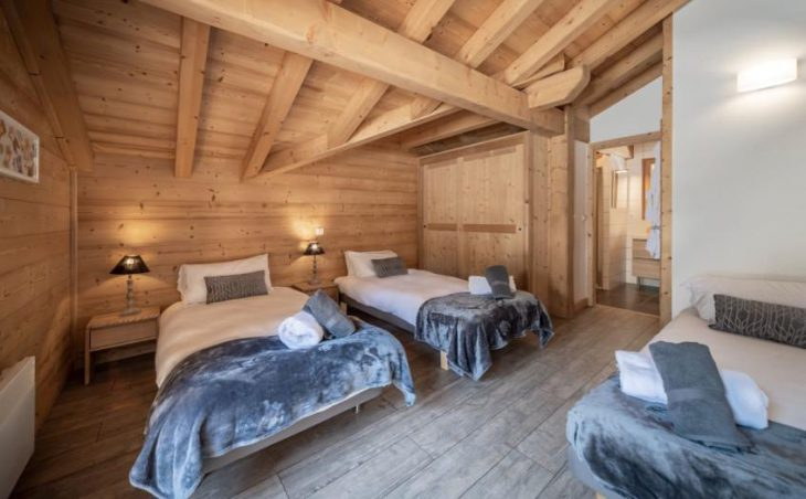 Chalet 10, Morzine, Triple Bedroom