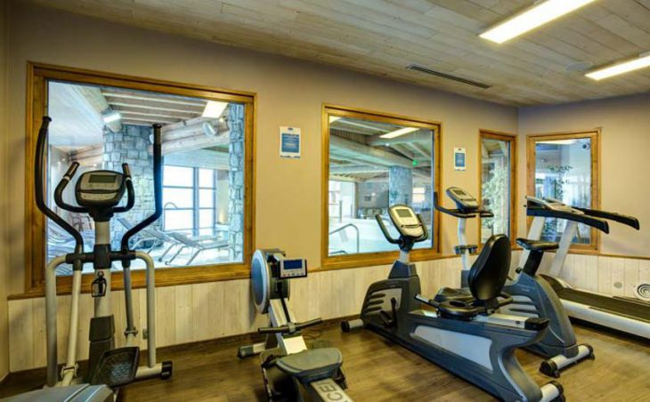 Chalet Abricot, Val Thorens, Gym