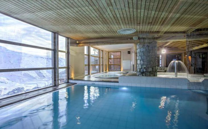 Chalet Abricot, Val Thorens, Pool