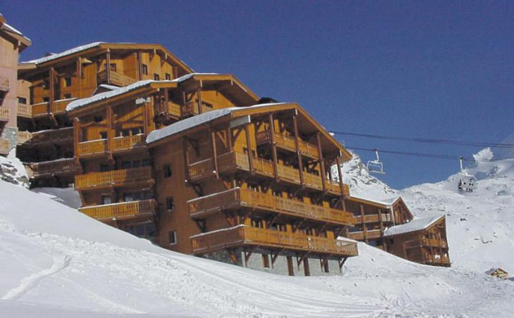 Chalet Abricot, Val Thorens, External