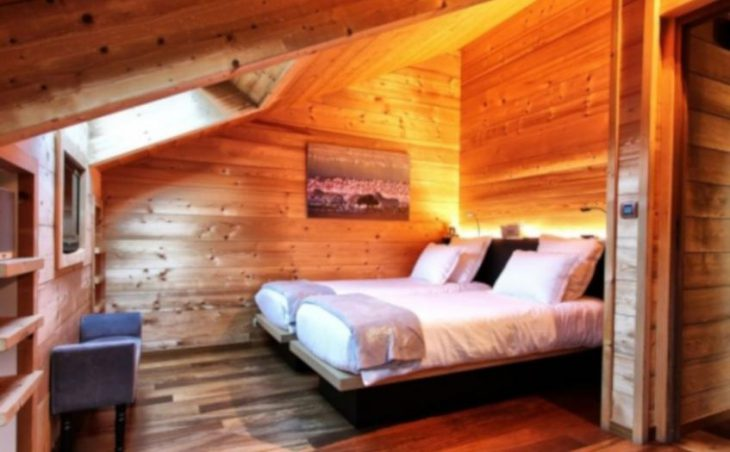 Chalet Acalou, Serre Chevalier, Twin Bedroom