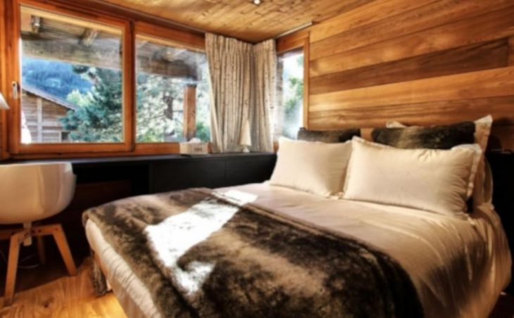 Chalet Acalou, Serre Chevalier, Double Bedroom