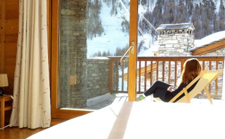 Chalet Amelie, Val d'Isere, Bedroom Balcony