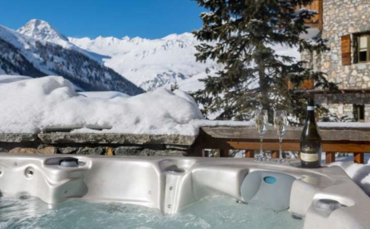 Chalet Amelie, Val d'Isere, Hot Tub