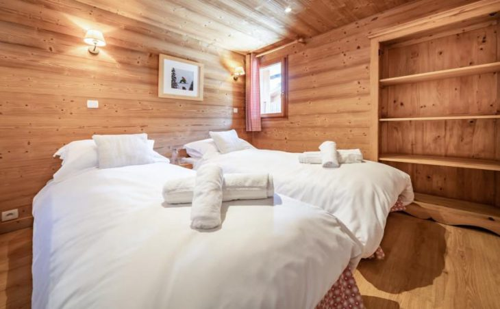 Chalet Apartment Le Rucher, Morzine, Twin Room