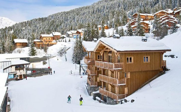 Chalet Becca in La Tania , France image 1