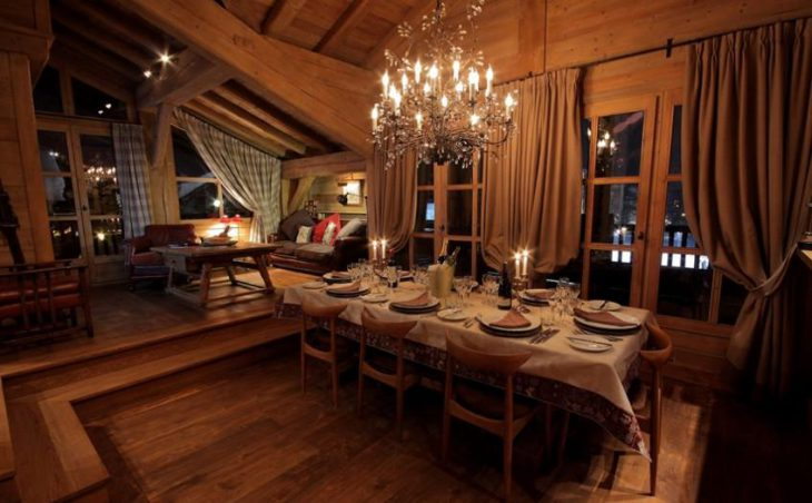 Chalet Bel Sol, Val dIsere, Dining Room 2