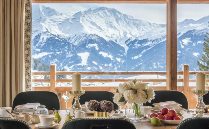 Chalet Bioley, Verbier, Dining Table