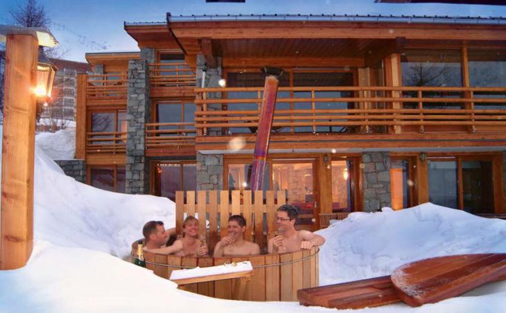 Chalet Cairn, Tignes, France, Hot Tub