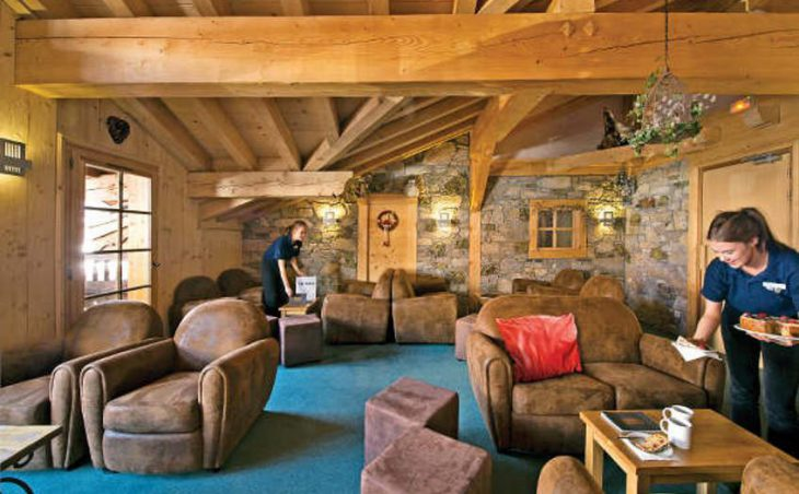 Chalet Cascades, Courchevel, Lounge Area