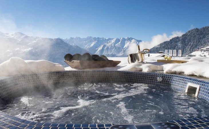 Chalet Chouqui, Verbier, Hot Tub