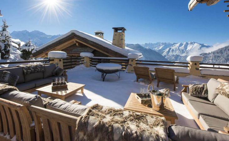 Chalet Chouqui, Verbier, Roof Balcony