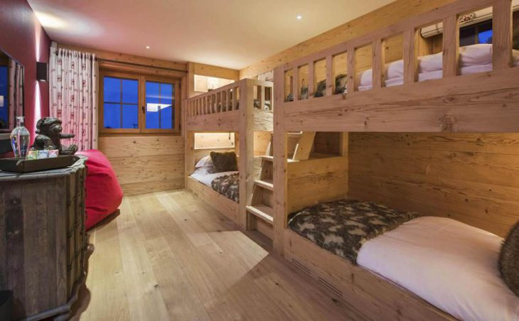 Chalet Chouqui, Verbier, Bunk Bedroom