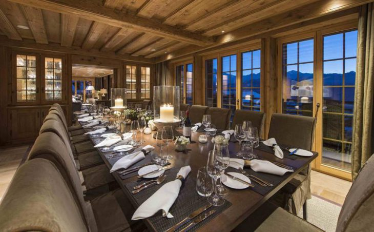 Chalet Chouqui, Verbier, Dining Room