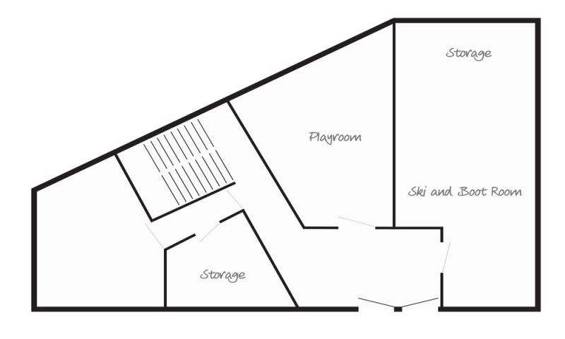 Chalet Cocon des Neiges (Family) Les Gets Floor Plan 1
